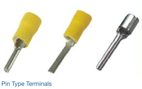 COPPER PIN TYPE TERMINALS