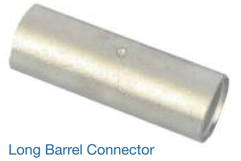 CABLE CONNECTOR & FERRULES - LONG BARREL