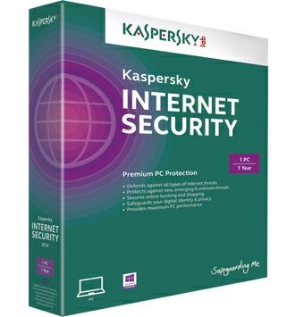 Kaspersky Internet Security 2016 1PC/1 năm