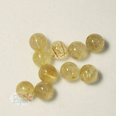 ST007 - 10mm rutilated quartz