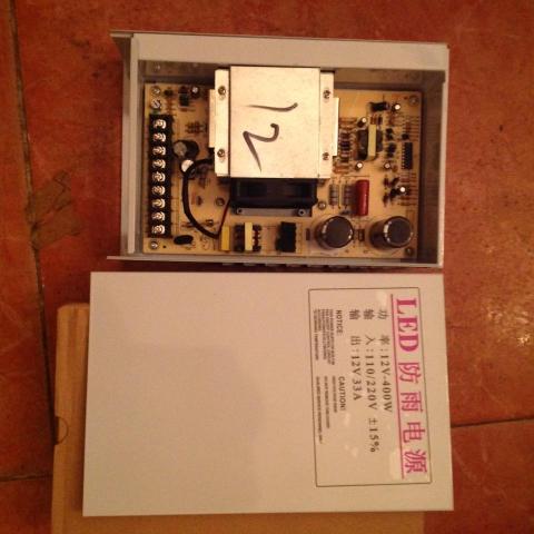 Nguồn LED 12V-33A