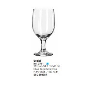 Embassy Goblet 340ml - Mã SP : 3711