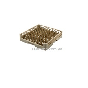 64-Compartment Open Plate & Tray Rack