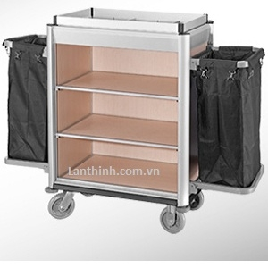 Aluminium maid cart, 3162211