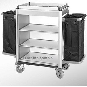Aluminium maid cart, 3162221