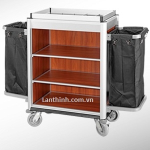 Aluminium maid cart,  3162231