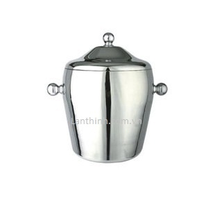 S/S Ice bucket 1,2L. Item code : B3178