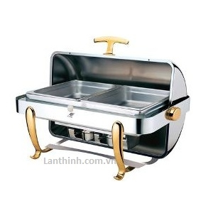 Rectangle roll top chafing dish