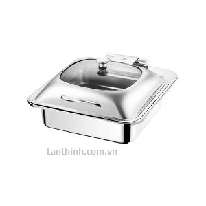 Rectangular Induction chafing dish/Glass Lid TMZ-1205