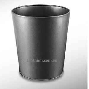 Room dustbin, Black panited steel body 3240444