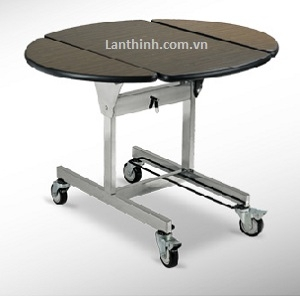 Room service trolley, Flexible Tri - fold design, 3402600