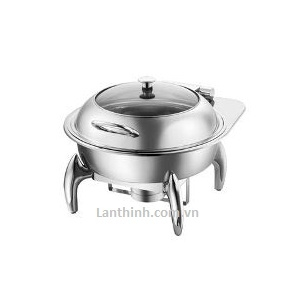 Round Induction chafing dish/Glass Lid TMZ-1204+1204J