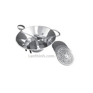 Vegetable sieve with 5 discs, SS, 30cm, VS-30
