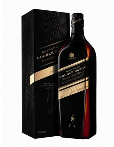 RƯỢU JOHNNIE WALKER DOUBLE BLACK 1 LÍT (1000ML / 40%)