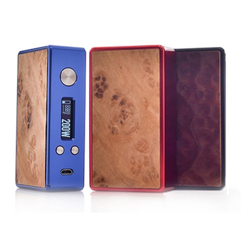 Efusion DNA200 Mini Wood Grained Panel by Lost Vape