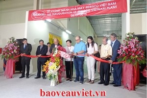 Inauguration ceremony of Rebisco Vietnam factory