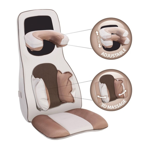 Đệm massage 3D Lanaform Excellence LA110311