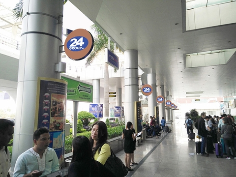 Logo - Banner - Domestic & International Arrival Terminal - DaNang Airport