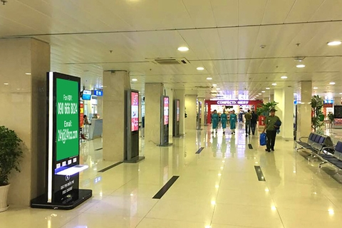 Digital LCD in Noi Bai Airport