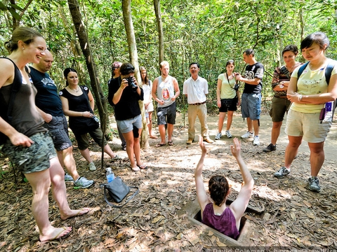Cu Chi Tunnels with Lunch