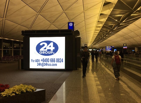 HongKong Airport Advertising