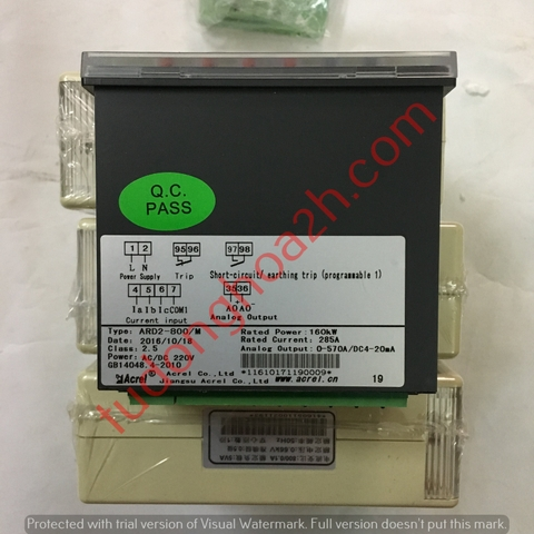 Relay nhiệt ARD2-800/M 160kW