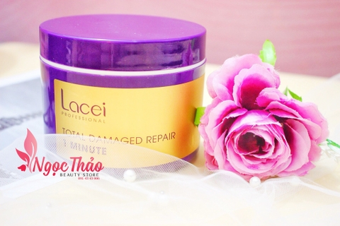 Kem ủ tóc Lacei Total Damaged Repair 1 Minute 300ml