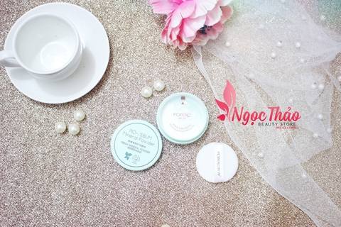 Phấn bột Rorec No sebum Mineral Powder