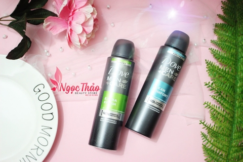 Xịt khử mùi Dove Men +Care