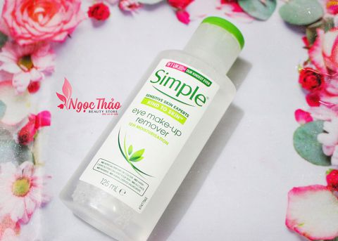 Tẩy trang Simple Kind to Skin Eyes Eye Make-up Remover