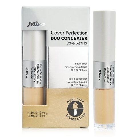 Che khuyết điểm 2 đầu Mira Cover Perfection Duo Concealer