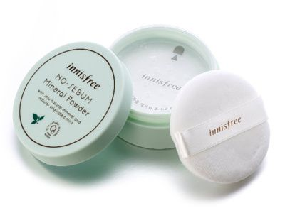 Phấn bột Innisfree No sebum Mineral Powder