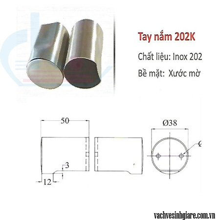 Tay nắm 202K