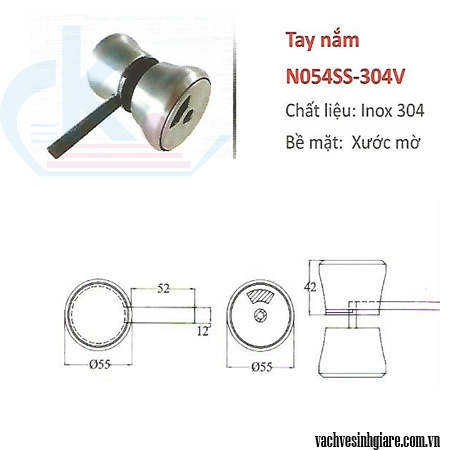 Tay nắm N054SS-304V