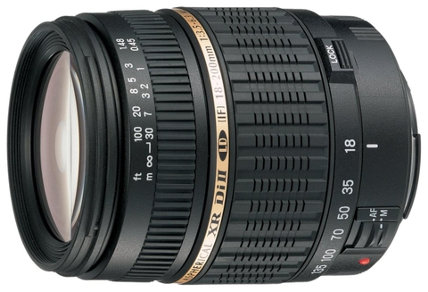 Tamron 18-200mm f/3.5-6.3 XR Di II  for Nikon