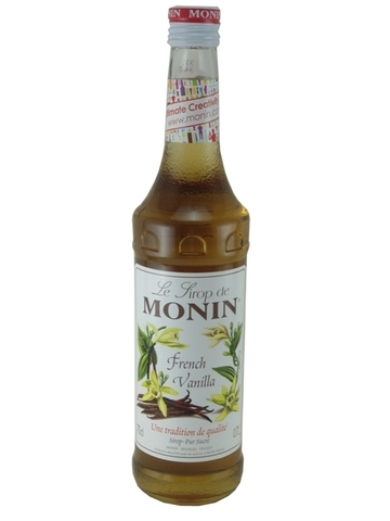 Syrup Monin Vanilla 700ml