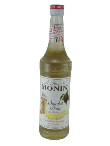 Syrup Monin White Chocolate 700ml