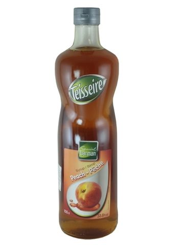 Syrup Teisseire Peach 1L