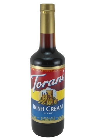 Syrup Torani Irish Cream 750ml