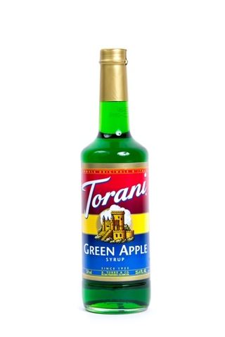 Syrup Torani Green Apple.