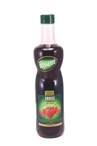 Syrup Teisseire Strawberry 700ml.
