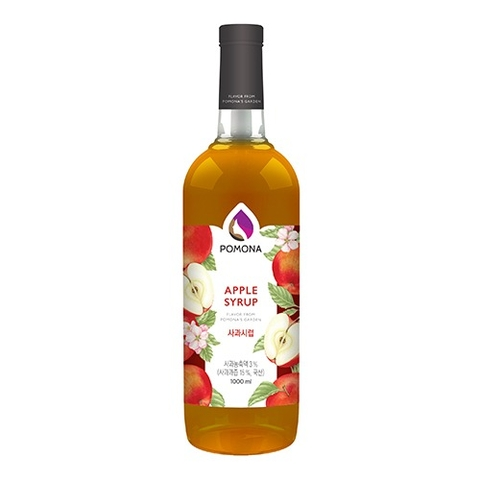 Pomona Apple Syrup 1000ml – Siro Táo Đỏ