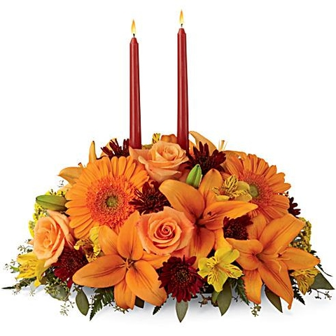 Autumn Florals Centerpiece - SF159