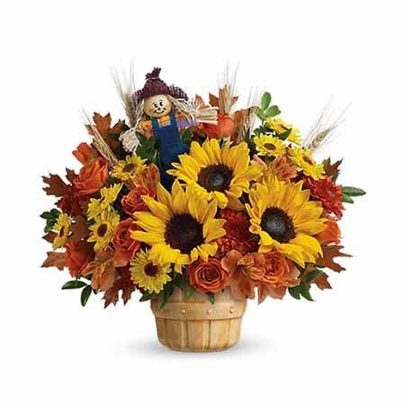 Smiling Scarecrow Bouquet - SF161
