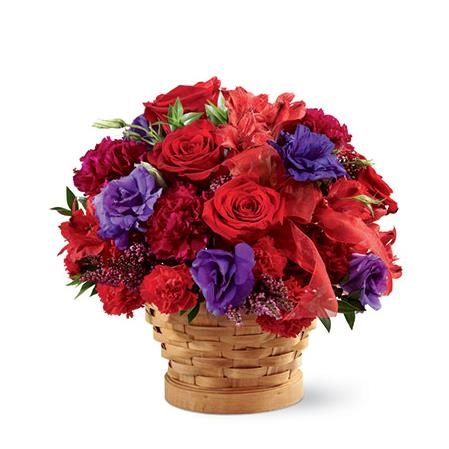 Kentucky Derby Red Hat Society Bouquet - SF125