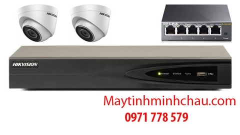 BỘ 2 CAMERA 2.0 IP DS-2CD1321-I