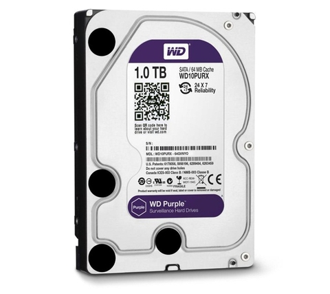 Ổ CỨNG HDD 3.5 INCH WD PURPLE 1TB WD10PURX