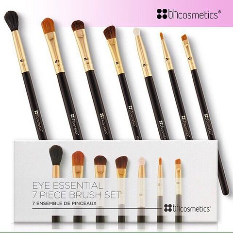 BỘ CỌ MẮT BH COSMETICS EYE ESSENTIAL 7 PIECE BRUSH SET