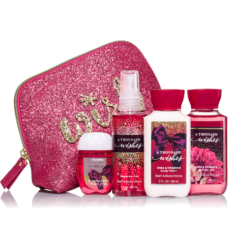 MINI GIFT SET BATH & BODY WORKS A THOUSAND WISHES