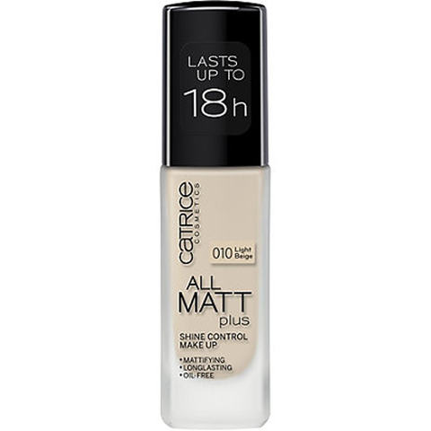 KEM NỀN CATRICE ALL MATT PLUS SHINE CONTROL MAKE UP LIGHT BEIGE 010